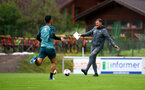 SCHRUNS, AUSTRIA - JULY 12: Ralph Hasenhuttl during a Southampton FC pre season training session on July 12, 2019 in Schruns, Austria. (Photo by Matt Watson/Southampton FC via Getty Images)