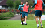 SCHRUNS, AUSTRIA - JULY 12: Wesley Hoedt during a Southampton FC pre season training session on July 12, 2019 in Schruns, Austria. (Photo by Matt Watson/Southampton FC via Getty Images)