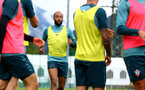 SCHRUNS, AUSTRIA - JULY 13: Nathan Redmond during a Southampton FC pre season training session on July 13, 2019 in Schruns, Austria. (Photo by Matt Watson/Southampton FC via Getty Images)