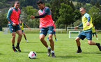 SCHRUNS, AUSTRIA - JULY 13: Mohamed Elyounoussi during a Southampton FC pre season training session on July 13, 2019 in Schruns, Austria. (Photo by Matt Watson/Southampton FC via Getty Images)