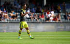 ALTACH, AUSTRIA - JULY 14: Cedric Soares during the pre-season friendly match between SCR Altach and Southampton FC at The Cashpoint Arena on July 14, 2019 in Altach, Austria. (Photo by Matt Watson/Southampton FC via Getty Images)