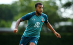 SOUTHAMPTON, ENGLAND - JULY 16: Ryan Bertrand during a Southampton FC  training session at Staplewood Complex on July 16, 2019 in Southampton, England. (Photo by James Bridle - Southampton FC/Southampton FC via Getty Images)