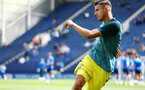 PRESTON, ENGLAND - JULY 20: Jan Bednarek during the pre-season friendly game between Preston North End and Southampton FC pictured at Deepdale on July 20, 2019 in Preston, England. (Photo by James Bridle - Southampton FC/Southampton FC via Getty Images)