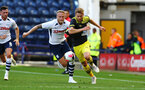 PRESTON, ENGLAND - JULY 20: Stuart Armstrong (right) during the pre-season friendly game between Preston North End and Southampton FC pictured at Deepdale on July 20, 2019 in Preston, England. (Photo by James Bridle - Southampton FC/Southampton FC via Getty Images)