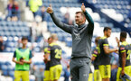 PRESTON, ENGLAND - JULY 20: Ralph Hasenhuttl reacts to the Southampton supporters after Southampton win the pre-season friendly game between Preston North End and Southampton FC pictured at Deepdale on July 20, 2019 in Preston, England. (Photo by James Bridle - Southampton FC/Southampton FC via Getty Images)