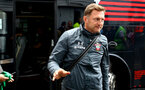 PRESTON, ENGLAND - JULY 20: Ralph Hasenhuttl of Southampton arrives ahead of the pre-season friendly game between Preston North End and Southampton FC pictured at Deepdale on July 20, 2019 in Preston, England. (Photo by James Bridle - Southampton FC/Southampton FC via Getty Images)