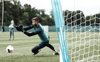 DUBLIN, ENGLAND - JULY 24: Angus Gunn during a Southampton FC training session pictured at Carton House Spa and Resort for Pre-Season Training on July 24, 2019 in Southampton, England. (Photo by James Bridle - Southampton FC/Southampton FC via Getty Images)