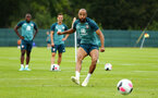 DUBLIN, ENGLAND - JULY 24: Nathan Redmond during a Southampton FC training session pictured at Carton House Spa and Resort for Pre-Season Training on July 24, 2019 in Southampton, England. (Photo by James Bridle - Southampton FC/Southampton FC via Getty Images)