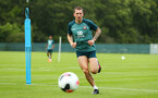 DUBLIN, ENGLAND - JULY 24: Pierre-Emile Hojbjerg during a Southampton FC training session pictured at Carton House Spa and Resort for Pre-Season Training on July 24, 2019 in Southampton, England. (Photo by James Bridle - Southampton FC/Southampton FC via Getty Images)