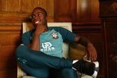 SAINTS: Obafemi stars as first interviewee