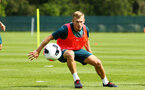 DUBLIN, ENGLAND - JULY 27: James Ward-Prowse during a Southampton FC Training session pictured at Carton House Spa and Resort for Pre-Season Training on July 27, 2019 in Southampton, England. (Photo by James Bridle - Southampton FC/Southampton FC via Getty Images)