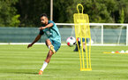 DUBLIN, ENGLAND - JULY 27: Sofiane Boufal  shoots during a Southampton FC Training session pictured at Carton House Spa and Resort for Pre-Season Training on July 27, 2019 in Southampton, England. (Photo by James Bridle - Southampton FC/Southampton FC via Getty Images)