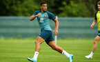 DUBLIN, ENGLAND - JULY 27: Che Adams during a Southampton FC Training session pictured at Carton House Spa and Resort for Pre-Season Training on July 27, 2019 in Southampton, England. (Photo by James Bridle - Southampton FC/Southampton FC via Getty Images)