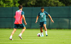 DUBLIN, ENGLAND - JULY 27: Che Adams (right) during a Southampton FC Training session pictured at Carton House Spa and Resort for Pre-Season Training on July 27, 2019 in Southampton, England. (Photo by James Bridle - Southampton FC/Southampton FC via Getty Images)