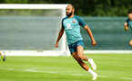 DUBLIN, ENGLAND - JULY 27: Nathan Redmond during a Southampton FC Training session pictured at Carton House Spa and Resort for Pre-Season Training on July 27, 2019 in Southampton, England. (Photo by James Bridle - Southampton FC/Southampton FC via Getty Images)