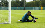 DUBLIN, ENGLAND - JULY 27: Fraser Forster during a Southampton FC Training session pictured at Carton House Spa and Resort for Pre-Season Training on July 27, 2019 in Southampton, England. (Photo by James Bridle - Southampton FC/Southampton FC via Getty Images)