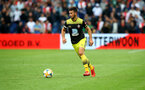 ROTTERDAM, NETHERLANDS - JULY 28: Shane Long of Southampton during the pre season friendly match between Feyenoord and Southampton FC at De Kuip on July 28, 2019 in Rotterdam, Netherlands. (Photo by Matt Watson/Southampton FC via Getty Images)