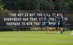 SOUTHAMPTON, ENGLAND - JULY 31: Quote signs during a Southampton FC training session at the Staplewood Campus on July 31, 2019 in Southampton, England. (Photo by Matt Watson/Southampton FC via Getty Images)