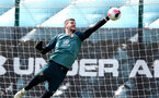 SOUTHAMPTON, ENGLAND - JULY 31: Fraser Forster during a Southampton FC training session at the Staplewood Campus on July 31, 2019 in Southampton, England. (Photo by Matt Watson/Southampton FC via Getty Images)