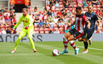 SOUTHAMPTON, ENGLAND - AUGUST 03: Che Adams of Southampton (right) in motion during the Pre-Season Friendly match between Southampton FC and FC Kšln pictured at St. Mary's Stadium on August 03, 2019 in Southampton, England. (Photo by James Bridle - Southampton FC/Southampton FC via Getty Images) SOUTHAMPTON, ENGLAND - AUGUST 03: Che Adams of Southampton (right) in motion during the Pre-Season Friendly match between Southampton FC and FC Köln pictured at St. Mary's Stadium on August 03, 2019 in Southampton, England. (Photo by James Bridle - Southampton FC/Southampton FC via Getty Images)