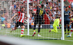 SOUTHAMPTON, ENGLAND - AUGUST 03: Pierre-Emile Hojbjerg of Southampton celebrates during the Pre-Season Friendly match between Southampton FC and FC Köln at St. Mary's Stadium on August 03, 2019 in Southampton, England. (Photo by Matt Watson/Southampton FC via Getty Images,)