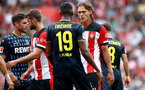 SOUTHAMPTON, ENGLAND - AUGUST 03: during the Pre-Season Friendly match between Southampton FC and FC Köln at St. Mary's Stadium on August 03, 2019 in Southampton, England. (Photo by Matt Watson/Southampton FC via Getty Images,)