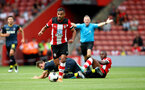 SOUTHAMPTON, ENGLAND - AUGUST 03: Sofiane Boufal of Southampton during the Pre-Season Friendly match between Southampton FC and FC Köln at St. Mary's Stadium on August 03, 2019 in Southampton, England. (Photo by Matt Watson/Southampton FC via Getty Images,)