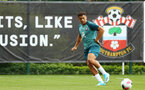 SOUTHAMPTON, ENGLAND - AUGUST 08: Che Adams during a first team training session pictured at Staplewood Training Ground on August 06, 2019 in Southampton, England. (Photo by James Bridle - Southampton FC/Southampton FC via Getty Images)