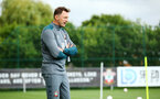 SOUTHAMPTON, ENGLAND - AUGUST 07: Ralph Hasenhuttl during a Southampton FC training session pictured at Staplewood Training Ground on August 07, 2019 in Southampton, England. (Photo by James Bridle - Southampton FC/Southampton FC via Getty Images)