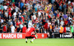 SOUTHAMPTON, ENGLAND - AUGUST 17: Danny Ings of Southampton during the Premier League match between Southampton FC and Liverpool FC at St Mary's Stadium on August 17, 2019 in Southampton, United Kingdom. (Photo by Matt Watson/Southampton FC via Getty Images)