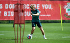 SOUTHAMPTON, ENGLAND - AUGUST 20: Stuart Armstrong during a Southampton FC training session at the Staplewood Campus on August 20, 2019 in Southampton, England. (Photo by Matt Watson/Southampton FC via Getty Images)