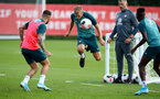 SOUTHAMPTON, ENGLAND - AUGUST 20: James Ward-Prowse during a Southampton FC training session at the Staplewood Campus on August 20, 2019 in Southampton, England. (Photo by Matt Watson/Southampton FC via Getty Images)