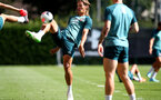 SOUTHAMPTON, ENGLAND - AUGUST 22: Jannik Vestergaard during a Southampton FC training session at the Staplewood Campus on August 22, 2019 in Southampton, England. (Photo by Matt Watson/Southampton FC via Getty Images)