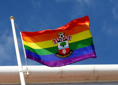 Saints supporting this year's Southampton Pride