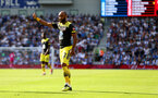 BRIGHTON, ENGLAND - AUGUST 24: Nathan Redmond of Southampton during the Premier League match between Brighton & Hove Albion and Southampton FC at American Express Community Stadium on August 24, 2019 in Brighton, United Kingdom. (Photo by Matt Watson/Southampton FC via Getty Images)
