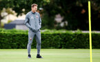 SOUTHAMPTON, ENGLAND, AUGUST 28, Ralph Hasenhuttl during a Southampton FC training session at the Staplewood Campus, Southampton