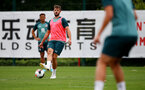 SOUTHAMPTON, ENGLAND, AUGUST 28, Jack Stephens during a Southampton FC training session at the Staplewood Campus, Southampton during a Southampton FC training session at the Staplewood Campus, Southampton