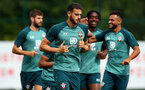 SOUTHAMPTON, ENGLAND - AUGUST 29: Wesley Hoedt7 during a Southampton FC training session at the Staplewood Campus on August 29, 2019 in Southampton, England. (Photo by Matt Watson/Southampton FC via Getty Images)