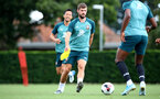 SOUTHAMPTON, ENGLAND - AUGUST 29: Jack Stephens during a Southampton FC training session at the Staplewood Campus on August 29, 2019 in Southampton, England. (Photo by Matt Watson/Southampton FC via Getty Images)