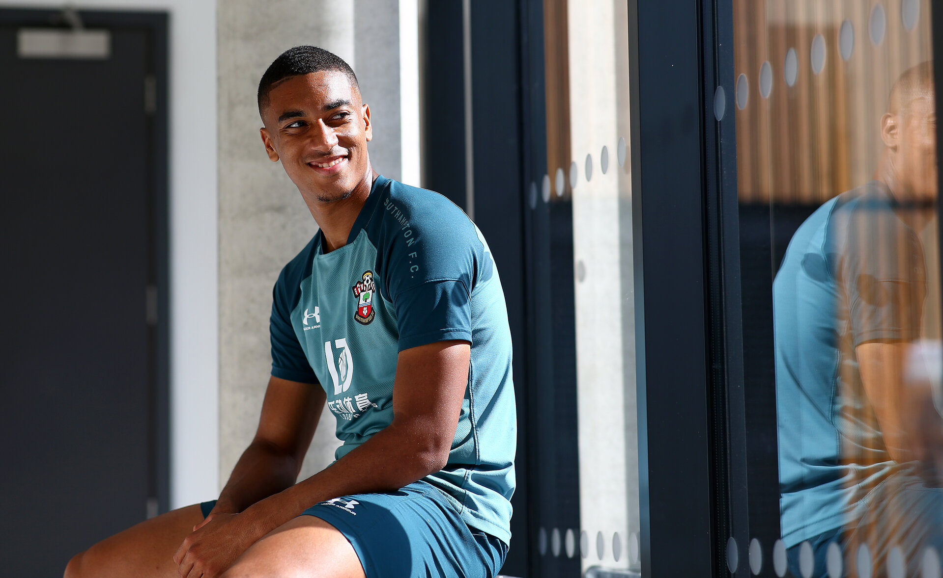 SOUTHAMPTON, ENGLAND - AUGUST 29: Yan Valery of Southampton pictured for the club's match day magazine, at the Staplewood Campus on August 29, 2019 in Southampton, England. (Photo by Matt Watson/Southampton FC via Getty Images)