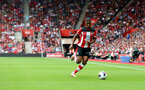 SOUTHAMPTON, ENGLAND - AUGUST 31: Kevin Danso of Southampton during the Premier League match between Southampton FC and Manchester United at St Mary's Stadium on August 31, 2019 in Southampton, United Kingdom. (Photo by Matt Watson/Southampton FC via Getty Images)