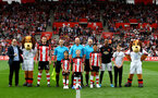 SOUTHAMPTON, ENGLAND - AUGUST 31: Centre circle photo during the Premier League match between Southampton FC and Manchester United at St Mary's Stadium on August 31, 2019 in Southampton, United Kingdom. (Photo by Matt Watson/Southampton FC via Getty Images)