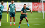 SOUTHAMPTON, ENGLAND - SEPTEMBER 03: Cedric Soares at the Staplewood Campus on September 03, 2019 in Southampton, England. (Photo by Matt Watson/Southampton FC via Getty Images)