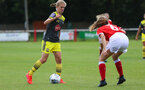 Shannon Albuery during the FA Women's National League, Div One South West match between Southampton FC Women and Swindon Town, at the Fairford Town Football Club, 8th September 2019 (pic by Isabelle Field)