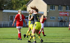 Caitlin Morris during the FA Women's National League, Div One South West match between Southampton FC Women and Swindon Town, at the Fairford Town Football Club, 8th September 2019 (pic by Isabelle Field)