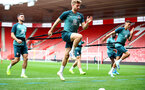 SOUTHAMPTON, ENGLAND - SEPTEMBER 12: Stuart Armstrong during a Southampton FC training session at St Mary's stadium on September 12, 2019 in Southampton, England. (Photo by Matt Watson/Southampton FC via Getty Images)