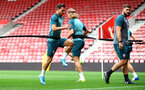 SOUTHAMPTON, ENGLAND - SEPTEMBER 12: Cedric Soares during a Southampton FC training session at St Mary's stadium on September 12, 2019 in Southampton, England. (Photo by Matt Watson/Southampton FC via Getty Images)