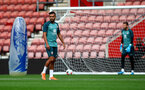 SOUTHAMPTON, ENGLAND - SEPTEMBER 12: Sofiane Boufal during a Southampton FC training session at St Mary's stadium on September 12, 2019 in Southampton, England. (Photo by Matt Watson/Southampton FC via Getty Images)