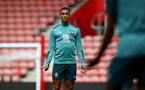 SOUTHAMPTON, ENGLAND - SEPTEMBER 12: Yan Valery during a Southampton FC training session at St Mary's stadium on September 12, 2019 in Southampton, England. (Photo by Matt Watson/Southampton FC via Getty Images)