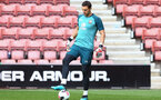 Alex Mccarthy during 1st Team training session at St Marys Stadium, Southampton, 12th September 2019 (pic by Isabelle Field)